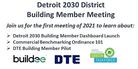 Detroit 2030 District Member Meeting tickets