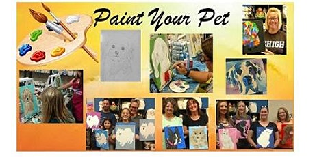 Paint Your Pet, Paint Night tickets