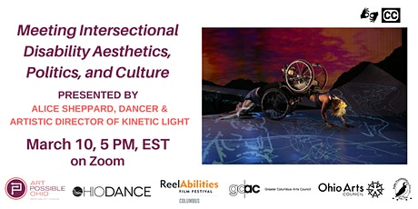 Meeting Intersectional Disability Aesthetics, Politics, and Culture tickets