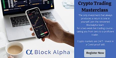 Crypto Trading Masterclass tickets