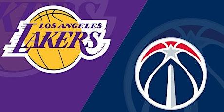 StrEams@!. Washington Wizards v Los Angeles Lakers LIVE ON NBA 2021 tickets