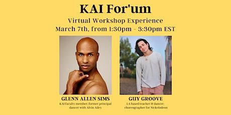 Virtual Dance Class with Glenn Allen Sims & Guy Groove tickets