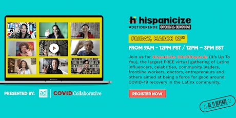 Hispanicize #DeTiDepende Special Edition Tickets
