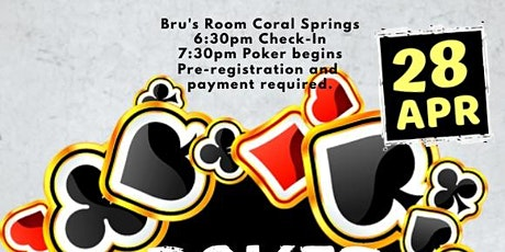 Travel Baseball Poker Tournament tickets