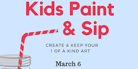 KIDS Paint & Sip tickets