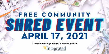 Free Community Shred Event tickets