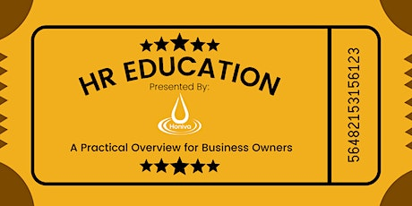 HR Education - A Practical Overview for Business Owners tickets