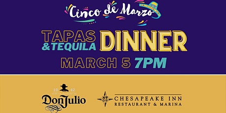 Cinco De Marzo - Tapas & Tequila Dinner tickets