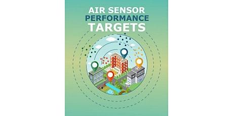 Air Sensor Performance Targets tickets