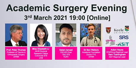 Keele University's Academic Surgery Evening tickets