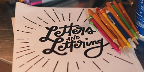 Letters & Lettering : Intro to Handlettering tickets