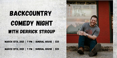 Comedy Night with Derrick Stroup tickets
