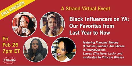 Black Influencers on YA: Our Favorites from Last Year to Now tickets