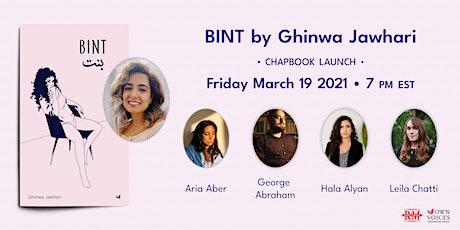 Radix Reads: Virtual Launch for BINT by Ghinwa Jawhari tickets