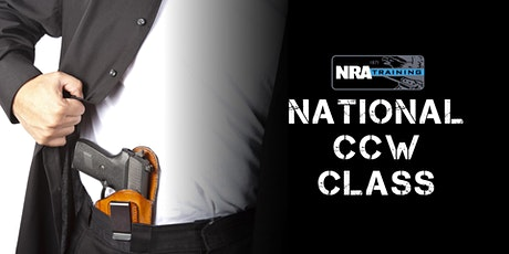 NRA 50-STATE CCW  (TWO CONSECUTIVE DAY COURSE) tickets