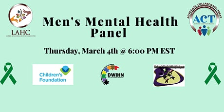 Men's Mental Health Panel tickets