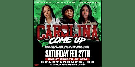 The Carolina Come Up tickets