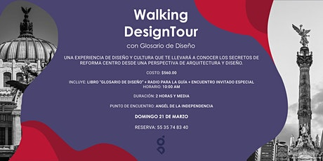 1er  Walking Design Tour con Glosario de Diseño boletos