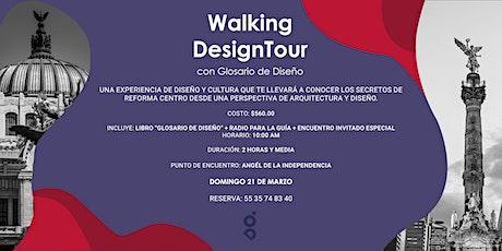 1er  Walking Design Tour con Glosario de Diseño entradas