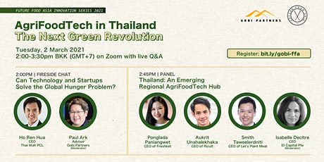 AgriFoodTech in Thailand: The Next Green Revolution tickets
