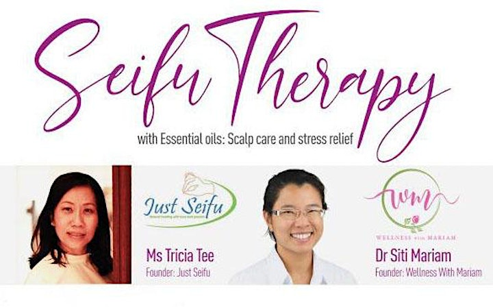 Seifu Therapy with Essential Oils: Scalp care and Stress Relief image