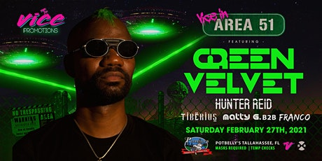 Vice in Area 51 Concert: Featuring Green Velvet tickets