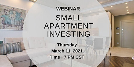 Small Apartment Investing tickets
