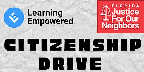 Virtual Citizenship Drive tickets