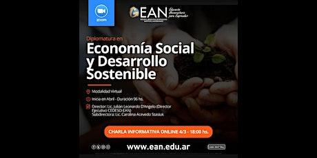Charla Informativa: Diplomatura en Economía Social y Desarrollo Sostenible entradas