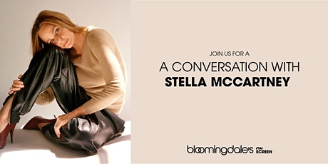 A CONVERSATION WITH STELLA MCCARTNEY ingressos