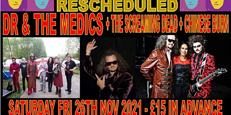 (RESCHEDULED) Dr and the Medics + support go Undercover in Guildford Surrey tickets