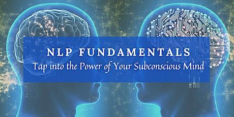 NLP Fundamentals - Live Interactive Workshop (Weekend) tickets
