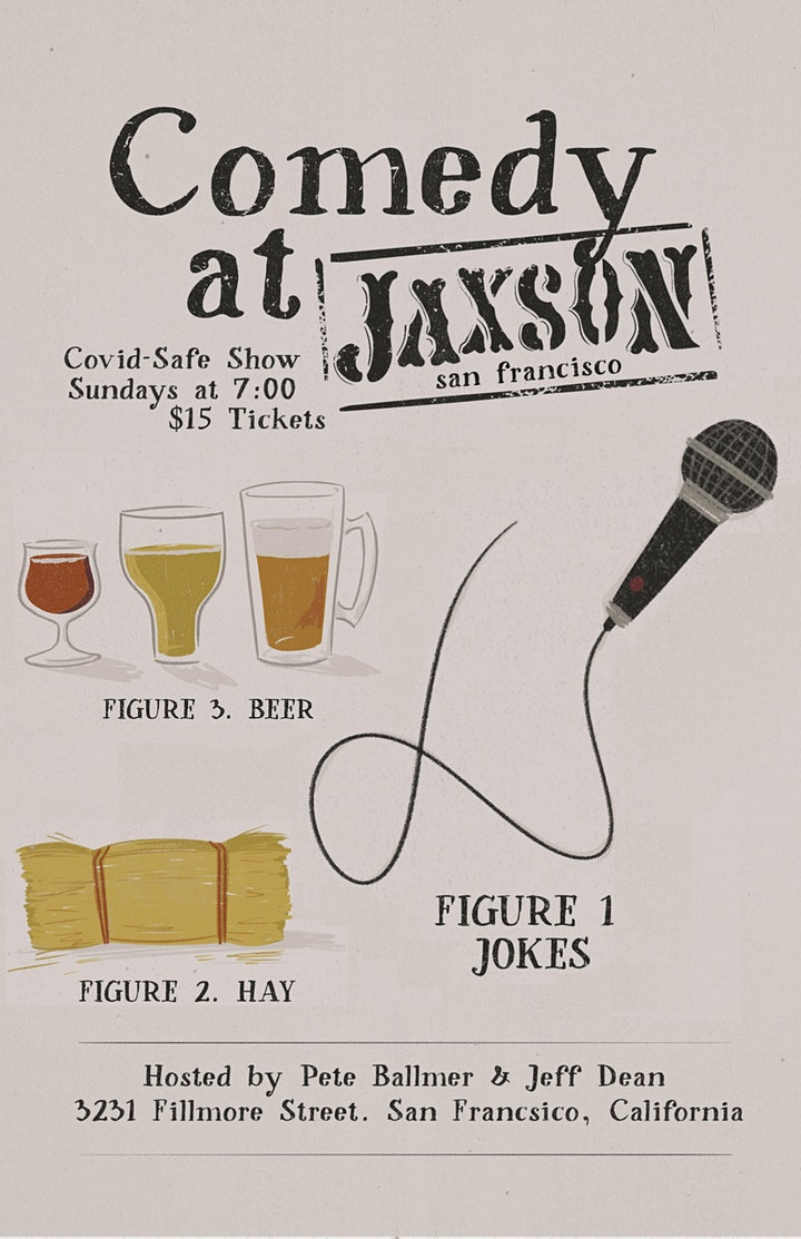 Comedy at Jaxson: Stand Up Comedy Show image