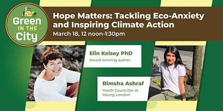 Hope Matters: Tackling Eco-Anxiety and Inspiring Climate Action tickets