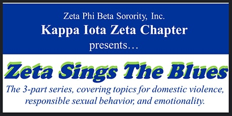 Zeta Sings the Blues - 3-Part Series tickets