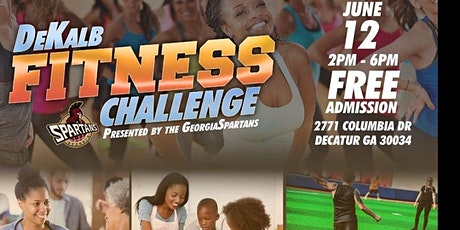 Georgia Spartans DeKalb Fitness Challenge tickets