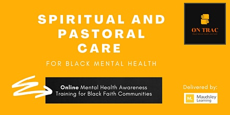 ON TRAC - Black Mental Health, Spirituality and Pastoral Care tickets