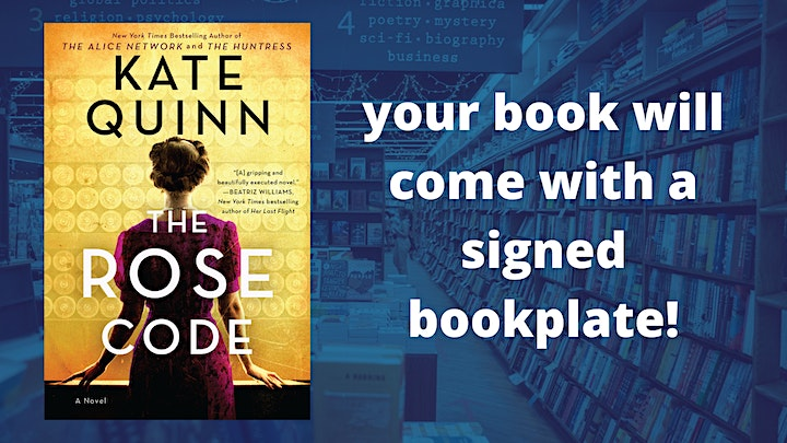 Kate Quinn with Heather Morris and Lizz Schumer: The Rose Code image