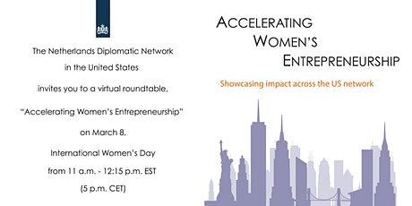 Accelerating Women's Entrepreneurship tickets