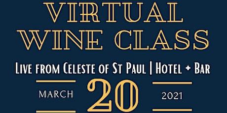 Green Mangos Catering + Celeste Hotel Virtual Wine Class tickets