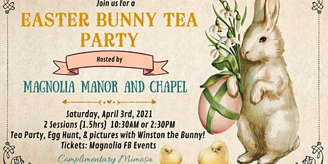 Easter Bunny Tea Party tickets