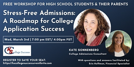 Stress-Free Admissions: A Roadmap For College Application Success tickets