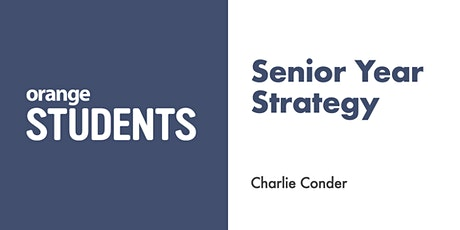 Let's Talk About Your Senior Year Strategy tickets