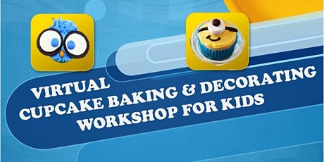 Easter Virtual Cupcake Baking & Decorating Workshop tickets