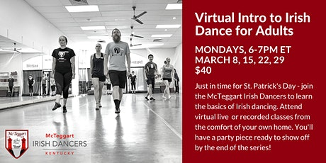 Virtual Intro to Irish Dance for Adults tickets