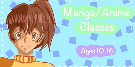 Manga /Anime live 6 week drawing course for kids tickets