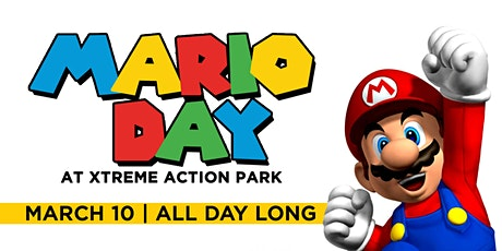 Mario Day at Xtreme Action Park tickets
