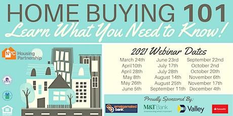 Housing Partnership Home Buying 101 Webinars 2021 tickets