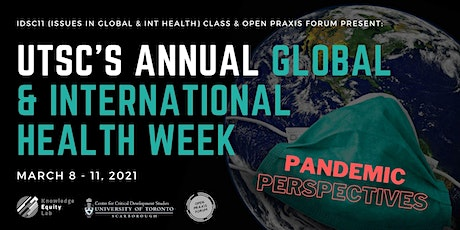 UTSC's Annual Global & International Health Week tickets