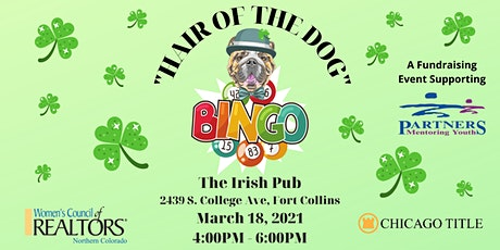 """""""Hair of the Dog"""" Bingo and Fundraiser tickets"""